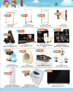 Al Safeer promotions includes coffee maker and televisions