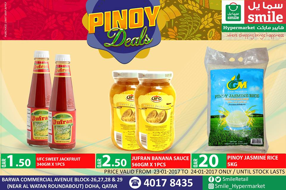 Pinoy Deals at Smile Hypermarket