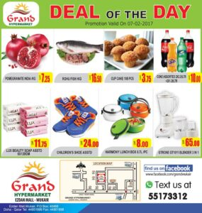 Grand Mall Daily Deals