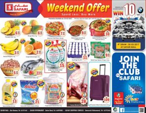 Safari Mall Weekend Offers