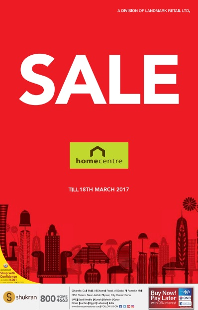 Home Center Qatar Sale