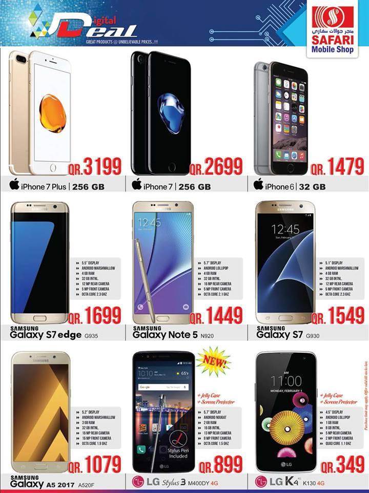 safari mall mobile deals