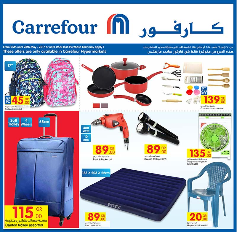 bags and kitchenwares
