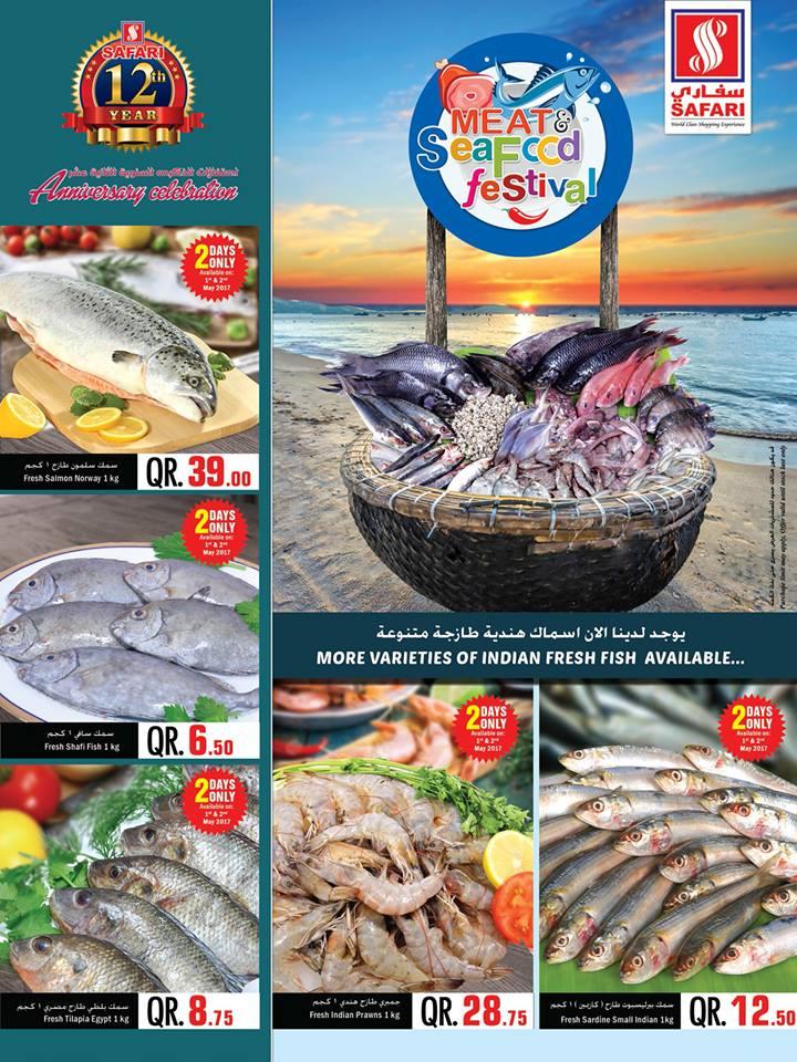 fresh sea foods