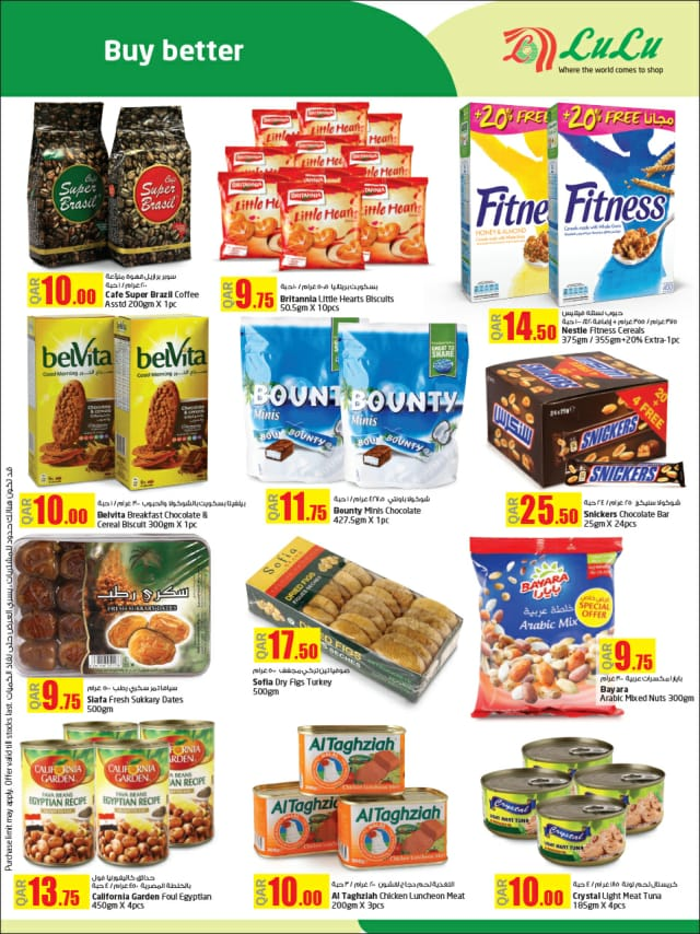 biscuits and food products