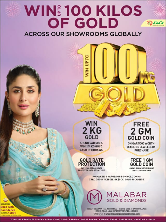 100 grams gold promo