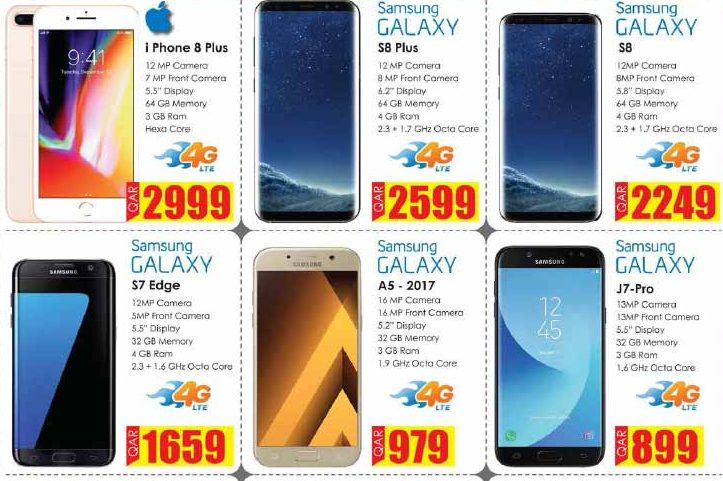 iphone 7 price and samsung s8