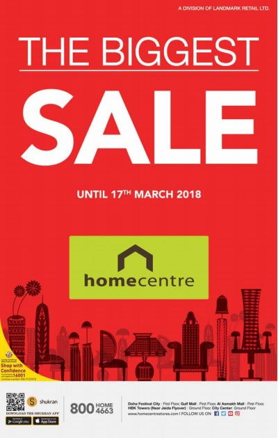 home centre qatar sale