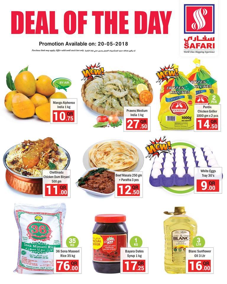 Safari Hypermarket Deal of the Day 20-05-2018