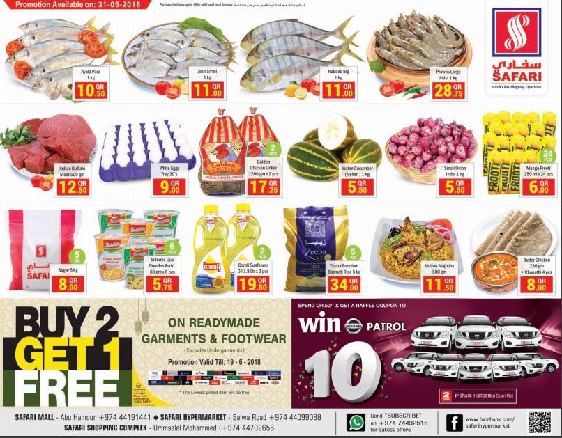 Safari Hypermarket Weekend Sale 31-05-2018