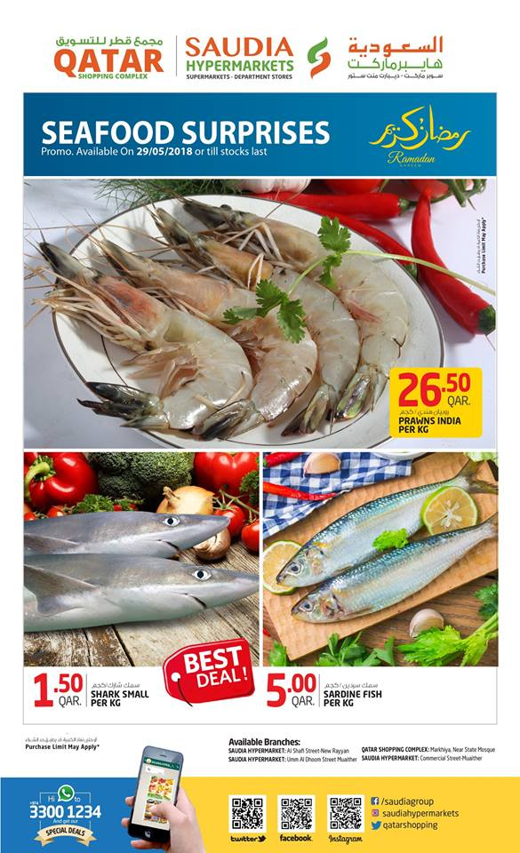 Saudia Hypermarket Deal of the Day 29-05-2018