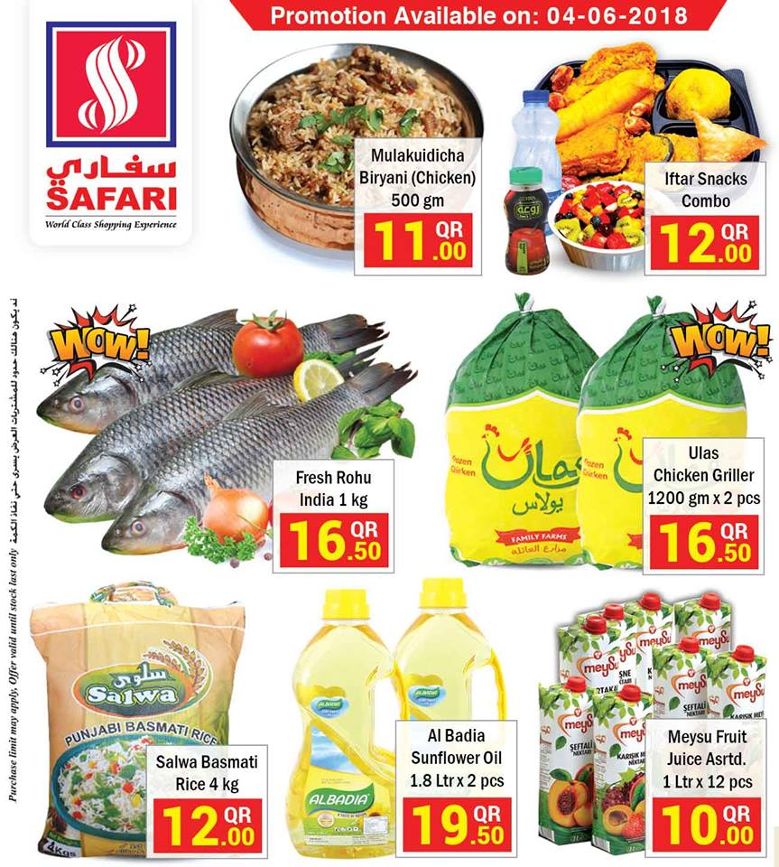 Safari Hypermarket Deal of the Day 04-06-2018