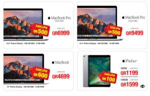 macbook pro with touchbar, jarir bookstore qatar
