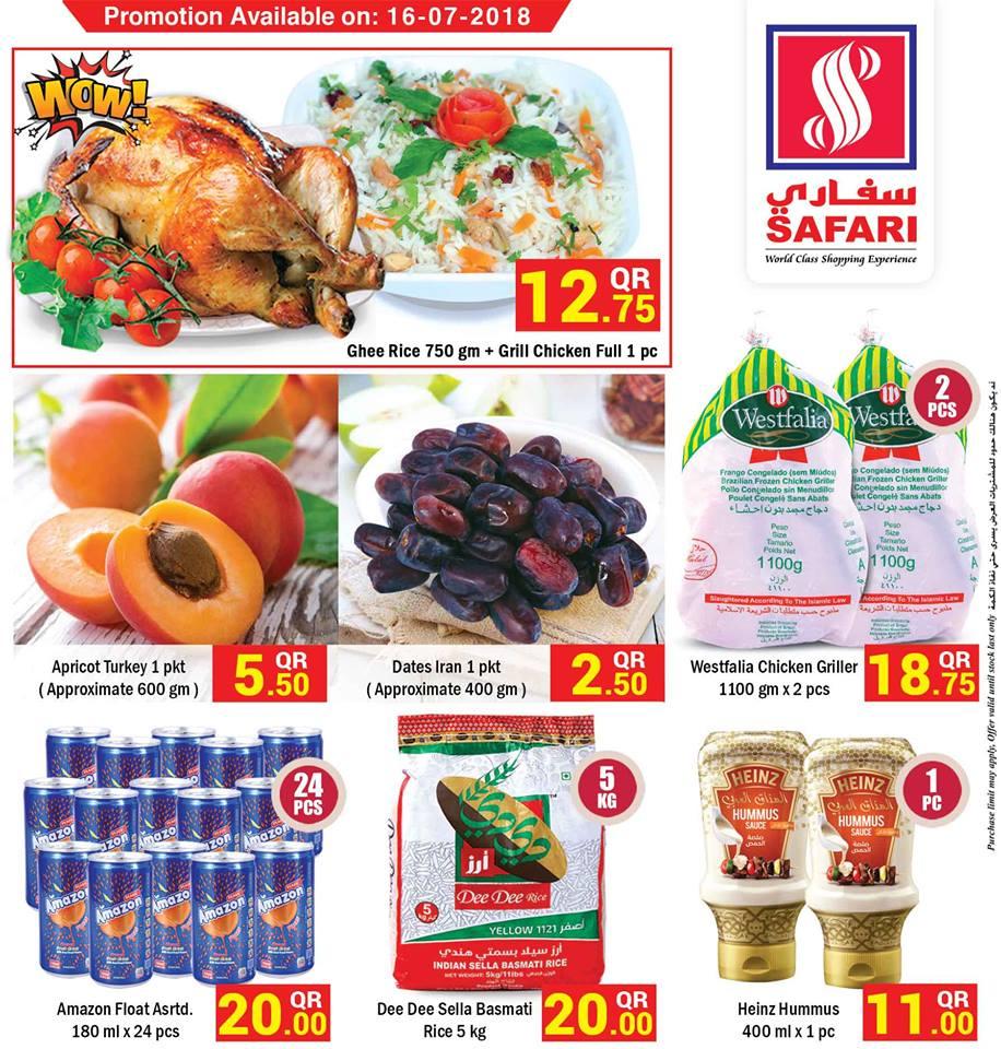 Safari Hypermarket Deal of the Day 16-07-2018