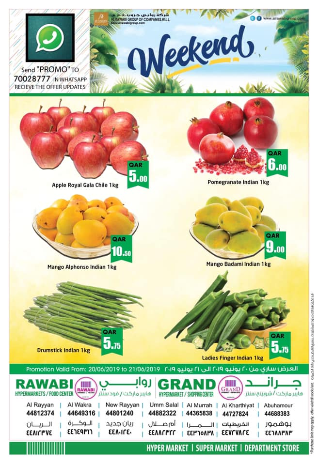 al rawabi fruits and vegetables