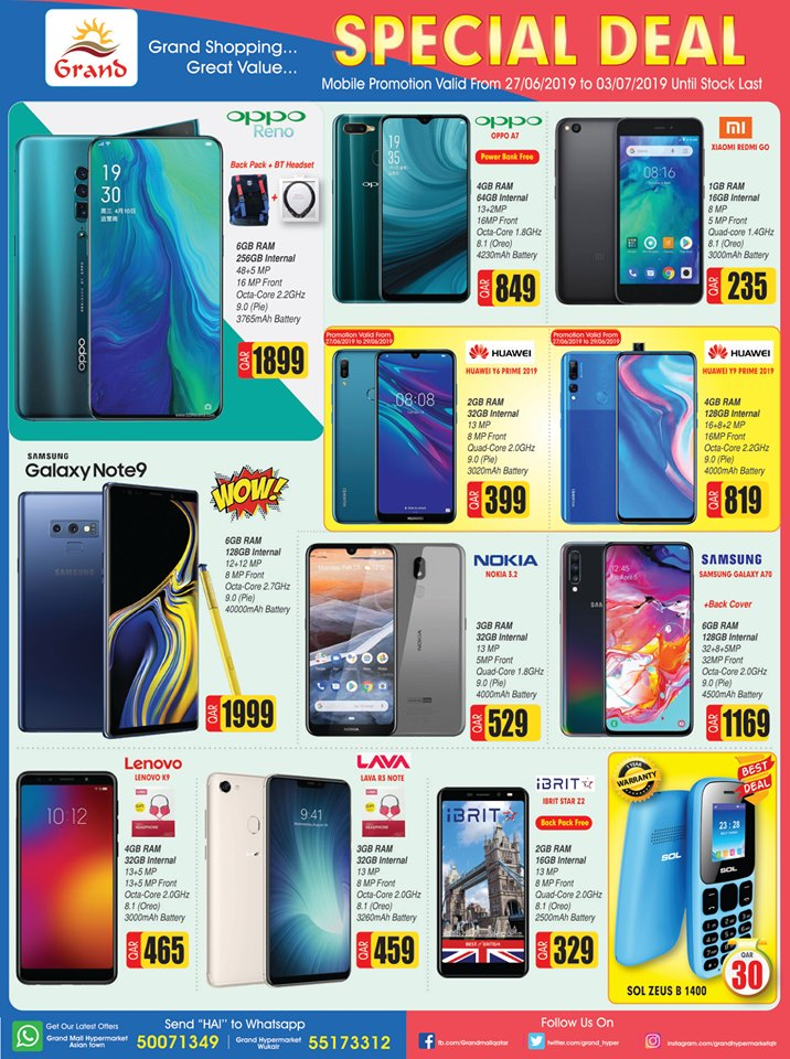 grandmall special mobile offers