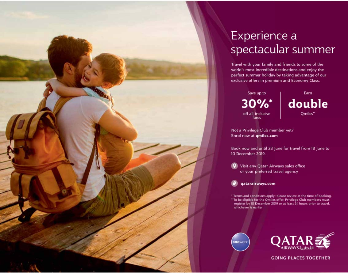 qatar airways summer deals